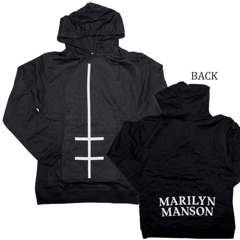 Men's Sweatshirts - Marilyn Manson Double Cross Sweatshirt