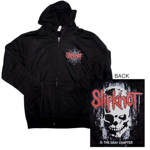 Men's Sweatshirts - Slipknot Skull Back Hoodie Sweatshirt