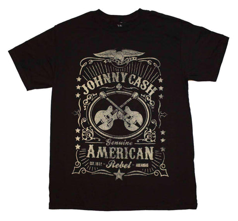 Men's T-Shirts - Johnny Cash Black Label T-Shirt