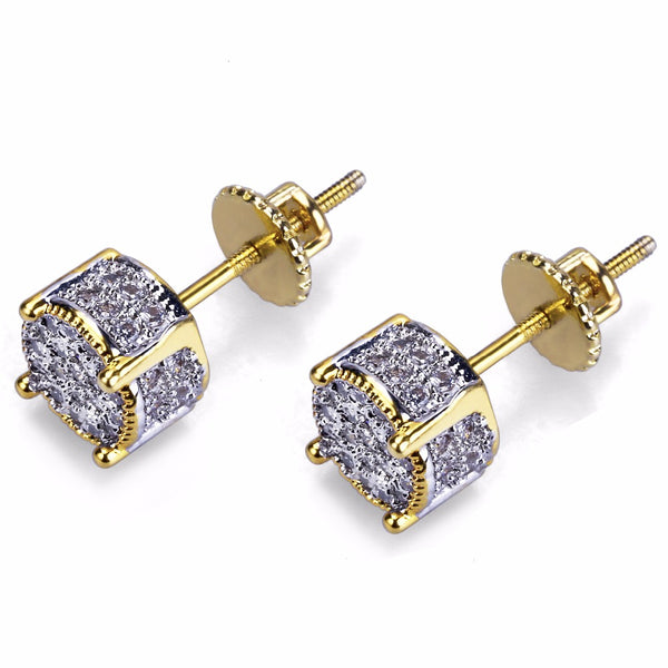 Iced Out Stud Earrings