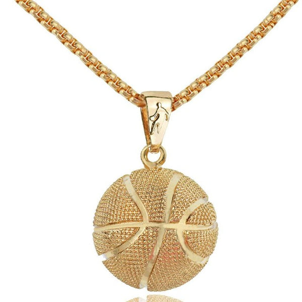 Iced Out BasketballNecklace
