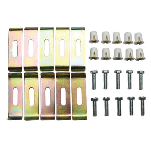 10 Pieces Undermount Clip for Stainless Steel Sink