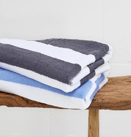 Kodi Striped Pool Towel