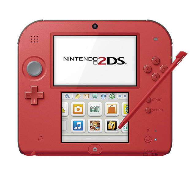 Nintendo 2DS - Red - 99Japan