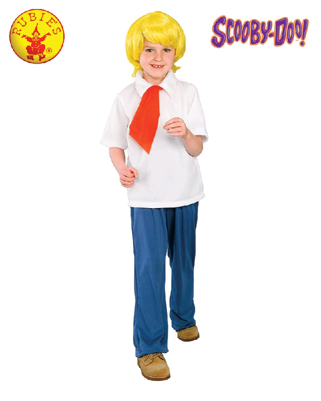 Boys Costume - Fred Jones Scooby Doo
