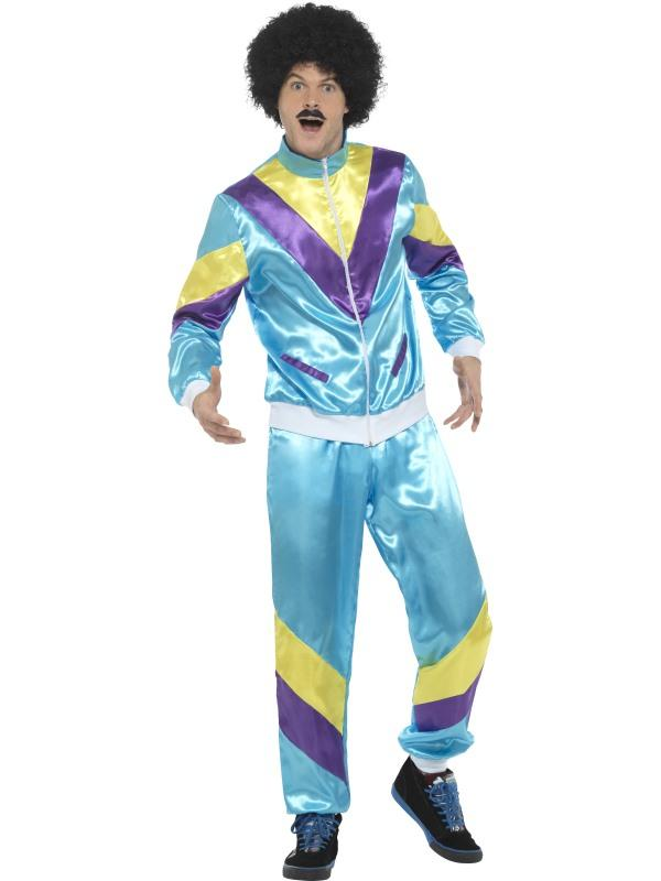 Mens Costume - Blue Height of Fashion Shell Suit