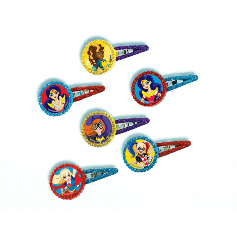 DC Superhero Girls Barrette 12pk