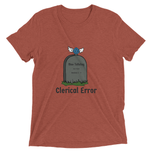 Ladies Clerical Error Tee