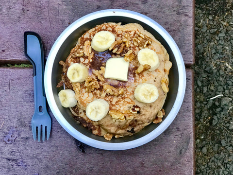 camping meal ideas , easy camping meals , camping gear , hiking gear , backcountry cooking , camping kitchen , pancakes , make ahead camping meals