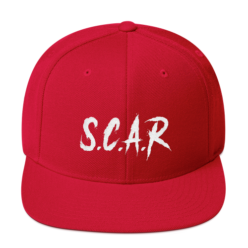 S.C.A.R Snapback - Red/White