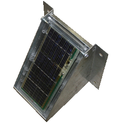 Solar panel with bracket - 6 Volt