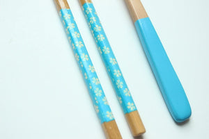 Beechwood Chopsticks & Spoon Set