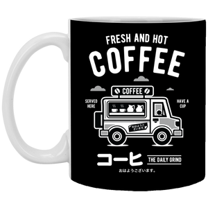 Coffee Van - 11 oz Ceramic Mug - 128