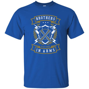 118 - RTP - Roach Graphics - Brother In Arms - Adult Unisex T-Shirt