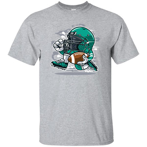 148 - RTP - Roach Graphics - Football Player-01 - Adult Unisex T-Shirt