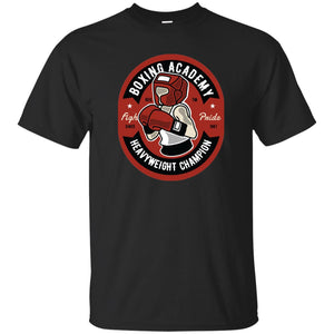 115 - RTP - Roach Graphics - Boxing Academy-01 - Adult Unisex T-Shirt