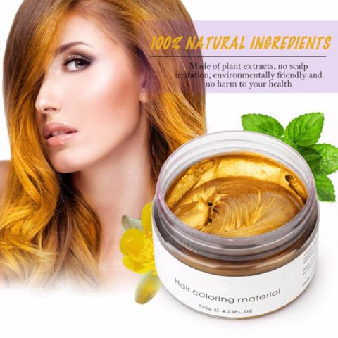 Image of Unisex NATURAL Hair Color Wax