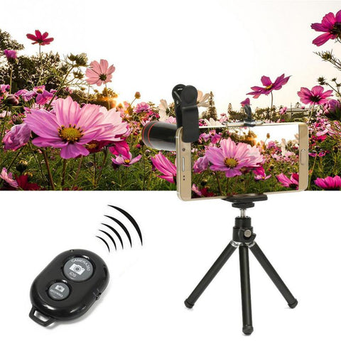 Image of All in 1 Accessories Phone Camera Lens Top Travel Kit