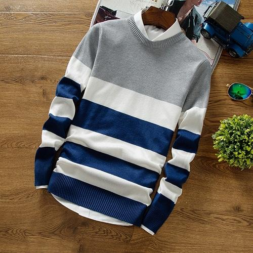 Urban Striped Sweater (3 colors)