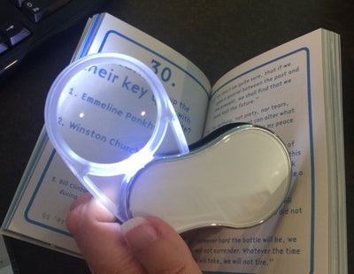 Folding Pocket Magnifier with Light