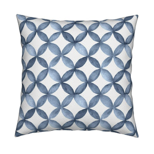 Shannon Navy Blue Pillow Cover