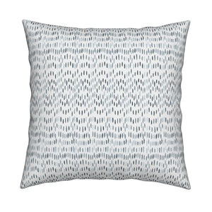 Maggie Navy Powder Blue Pillow Cover