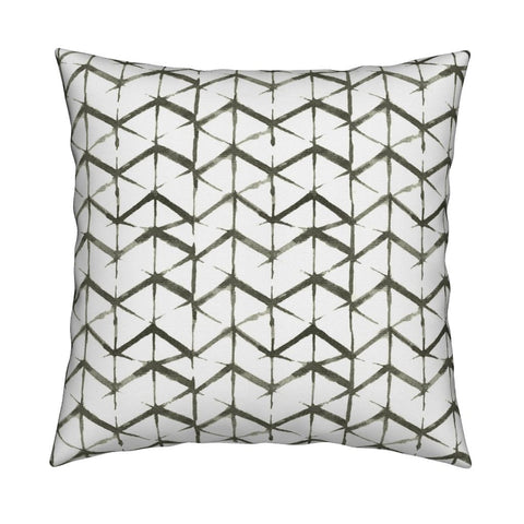 Emma Olive Green Pillow Cover