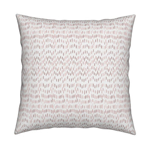 Maggie Dusty Rose Blush Pillow