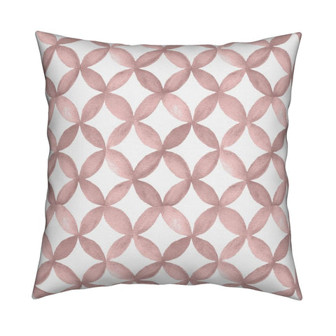 Shannon Dusty Rose Pillow Cover