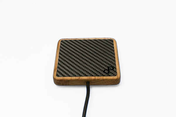 WOCH - Carbon Wooden Wireless Charger