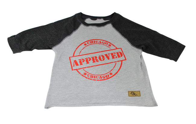 Chicago Approved Kids (Grey/Black)