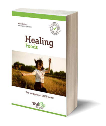healing foods - achieve super healthy body. FREE ebook - Healtop