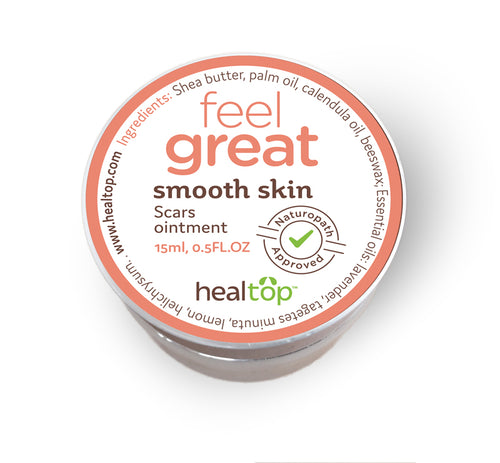smooth skin - scars ointment - Healtop