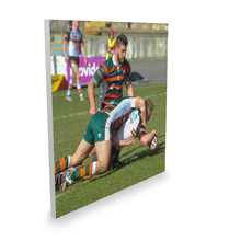 Hunslet (H) Sam Hallas Try