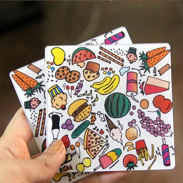 Anything for FOOD! | Coasters (Set of 4)