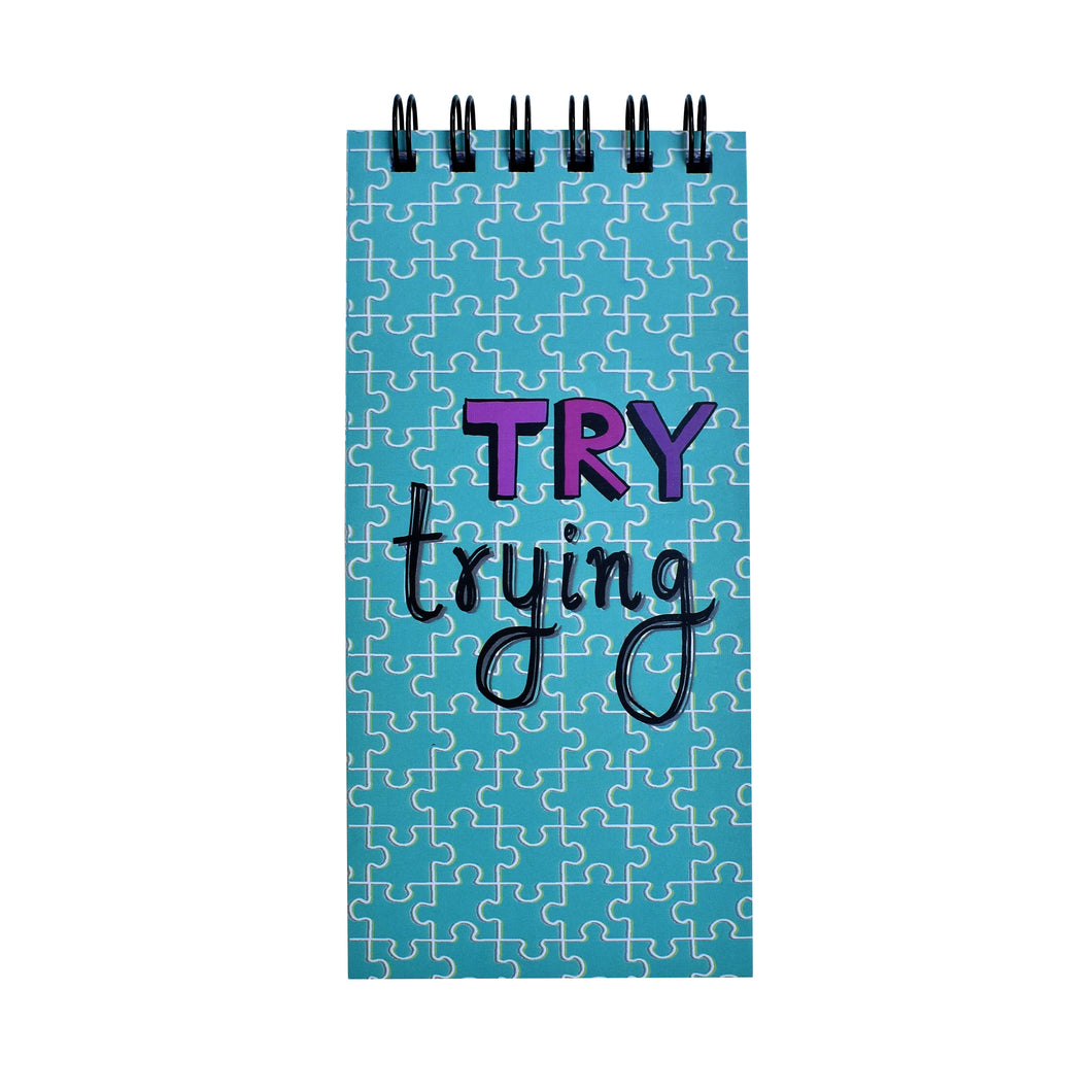 Try Trying | DAILY PLANNER