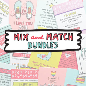 Mix and Match Bundles of Cards
