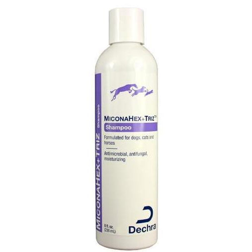 Pet Vet Clinic Singapore Buy Online - Dechra MiconaHex+Triz Shampoo with Miconazole and Chlohexidine Gluconate. Non-Prescription Medicated for Dogs Skin and Fur