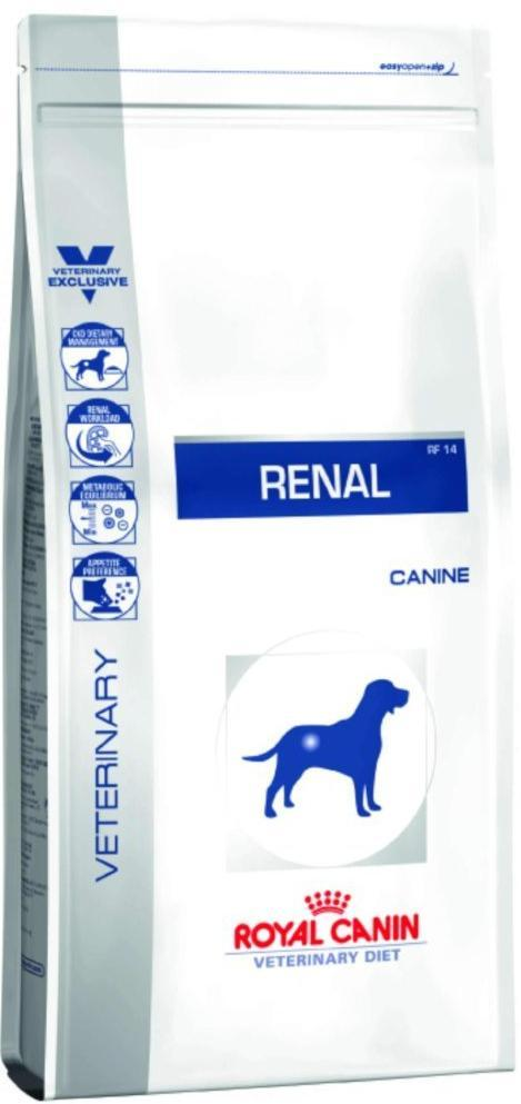 Pet Vet Clinic Singapore Buy Online - Royal Canin Renal Prescription Diet for Dogs. Supports Renal function.