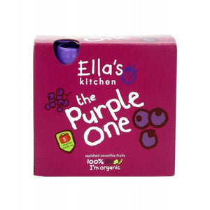 Ella's Kitchen The Purple One Fruit Smoothie - Multipack