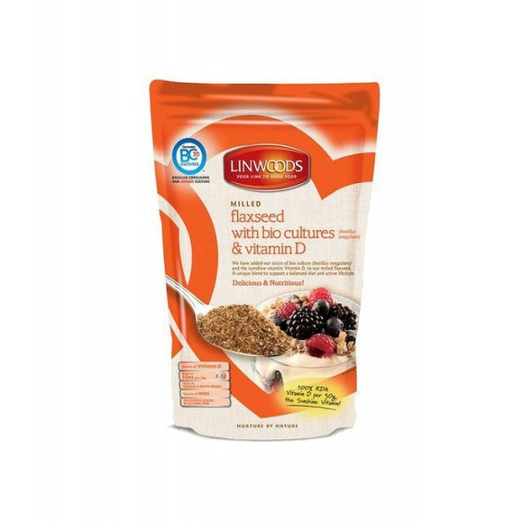 Linwoods Milled Flaxseed With Probiotic & Vitamin D