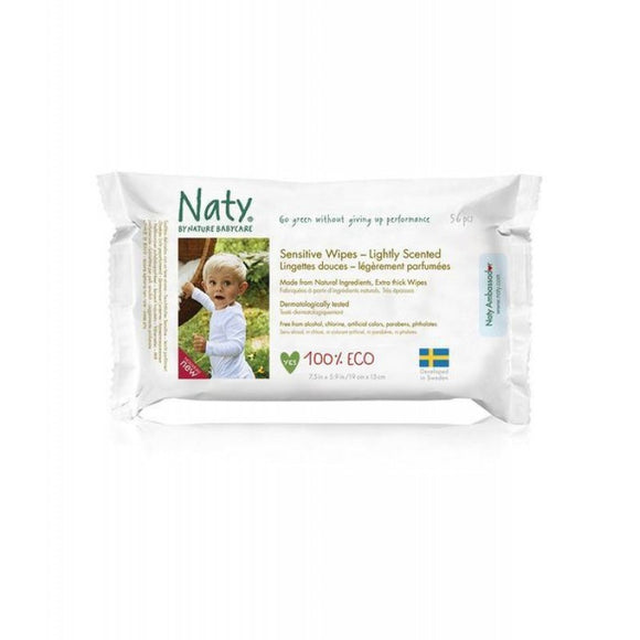 Nature Baby Wipes - Lightly Scented Sensitive