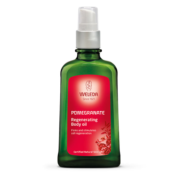 Weleda Pomegranate Regenerating Body Oil Bottle