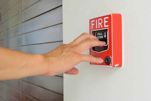 Burglars Pulled Fire Alarms to Assist Robberies
