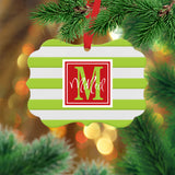 Personalized Family Name Ornament
