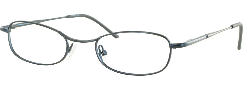 Blue-Classic Oval Embassy Frame-Prescription Glasses-Eyeglass Factory Outlet