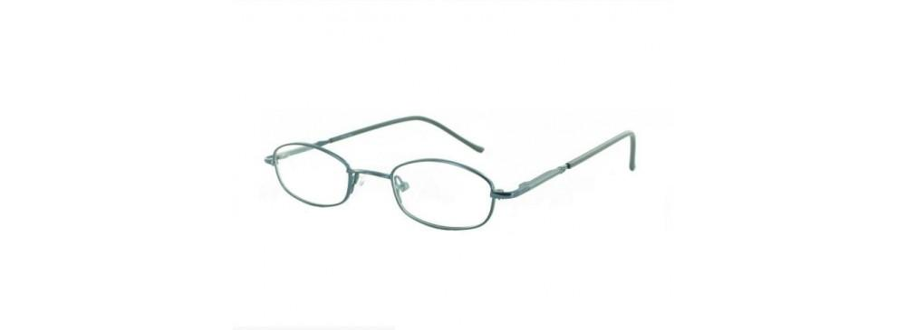 Blue-Classic Oval PT 7714 Frame-Prescription Glasses-Eyeglass Factory Outlet