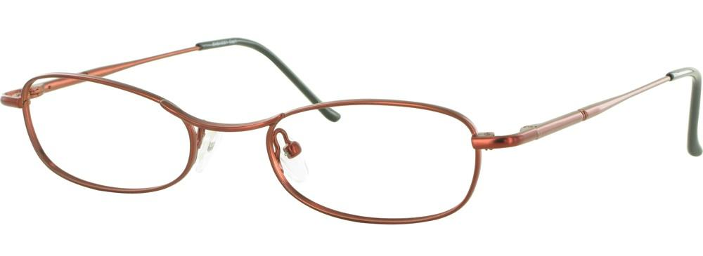 Burgundy-Classic Oval Embassy Frame-Prescription Glasses-Eyeglass Factory Outlet