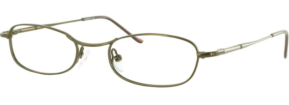 Coffee-Classic Oval Embassy Frame-Prescription Glasses-Eyeglass Factory Outlet