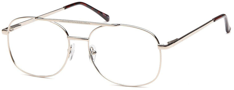 Gunmetal-Classic Aviator Palm Frame-Prescription Glasses-Eyeglass Factory Outlet